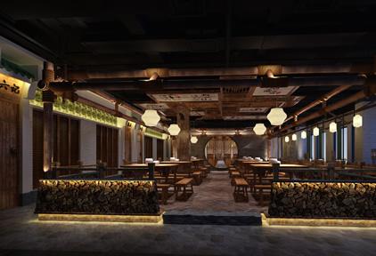 石锅尚味餐饮设计