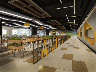 长沙航空学院食堂